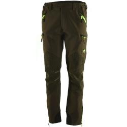 Univers Pantalone in Softshell Sassolungo Verde Fluo Univers-tex 92013 400