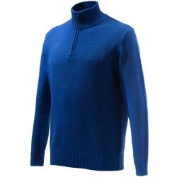 Beretta Maglione Dorset Half Zip Blu