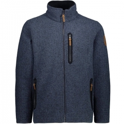 CMP Cardigan Wooltech Blu