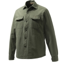 Beretta Camicia Heavy Overshirt Verde