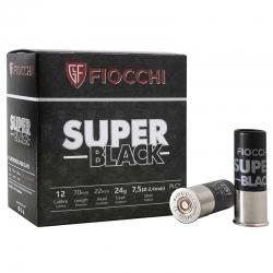 CART.FIOCCHI SUPER BLACK 24GR C.12