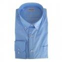 Classic Collection Camicia Maniche Lunghe Avio Azzurra