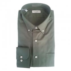 Classic Collection Camicia Maniche Lunghe verde