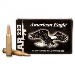 Federal 223 rem 55gr FMJ Tactical