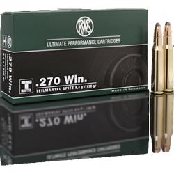 RWS 270 Win Teilmantel 8.4G 130 gr