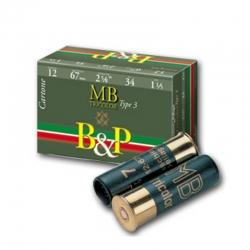 B&P MB Tricolor Cartone/Feltro 34g (10pz)
