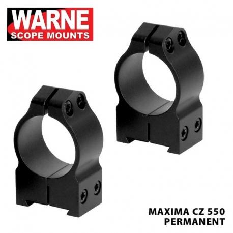 Warne Anelli CZ 550 30mm Alti