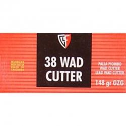 Fiocchi GZG Cal. 38 Wad Cutter 148gr