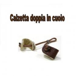 Colombaccio Calzetta doppia in cuoio