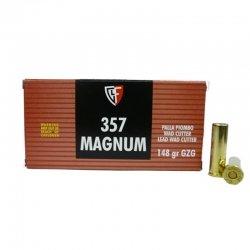 Fiocchi 357 Magnum 148 gr GZG