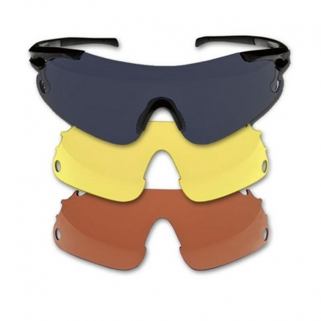 Beretta occhiali da tiro 3 lenti for Occhiali da tiro a volo zeiss