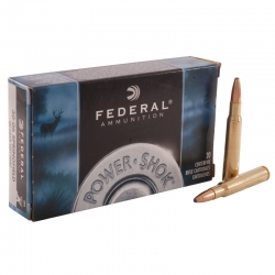 Federal Power-Shok Cal. 30-06 180gr