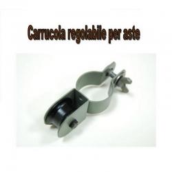 Colombaccio Carrucola regolabile per aste