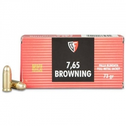 Fiocchi FMJ Cal. 7.65 Browning 73gr