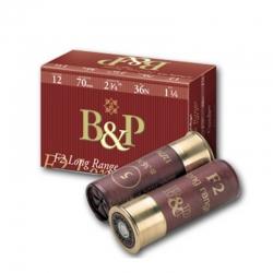 B&P F2 Long Range 36g Nik (10pz)