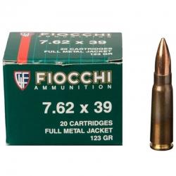 Fiocchi 7.62x39 Soviet FMJ 124gr