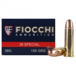 Fiocchi 38 S&W Special FMJ 158 gr