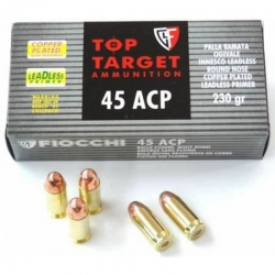 Fiocchi Top Target LLRNCP Cal. 45 ACP 230gr Ram.