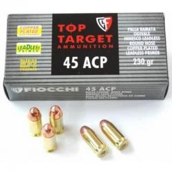 Fiocchi Top Target Ram. LLRNCP Cal. 45 ACP 230gr
