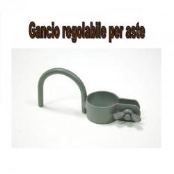 Colombaccio Hi-Tech Gancio Regolabile per Asta 30mm