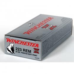 Winchester 223Rem S-X 55gr PSP 20/200