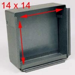 Porta Bersaglio Quadrato in Metallo