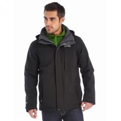 REGATTA GIACCA NORTHMORE 3 IN 1 Black