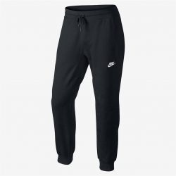 NIKE AW77 FRENCH TERRY CUFF PANT NERO