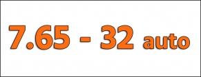 Cal. 7.65 - 32 AUTO