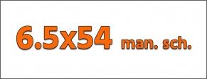 Cal. 6.5 X 54 MANNL. SCH.