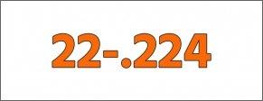 Palle - Cal.- 22-.224