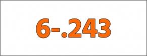 Cal.- 6-.243