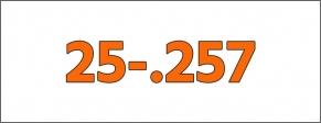 Cal.- 25-.257
