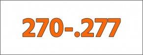 Cal.- 270-.277