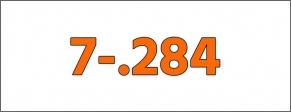 Cal.- 7-.284