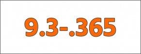 Cal.- 9,3-.365