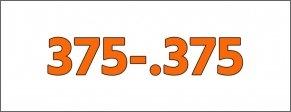 Cal.- 375-.375