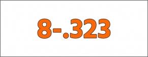 Cal.- 8-.323