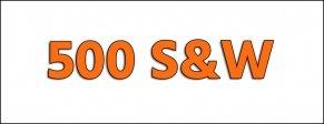 Cal. 500 S&W