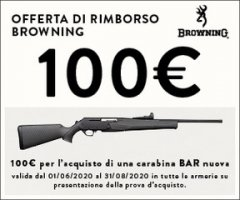 Promozione Browning 2020